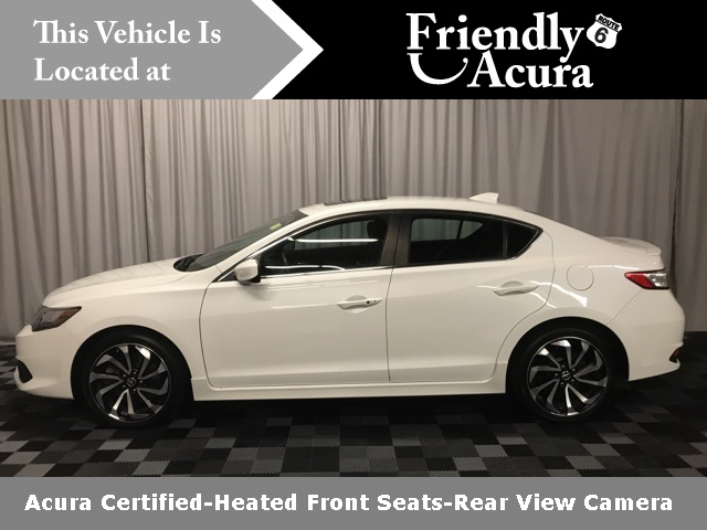 Certified Pre-Owned 2016 Acura ILX with Premium and A-SPEC Package